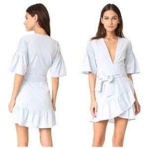 Saylor | Phebe Shirting Light Blue Dress